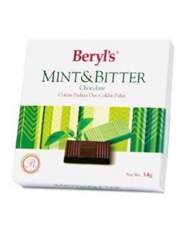 BERYL'S MINT & BITTER CHOC 34G