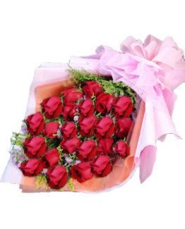 24 pcs roses